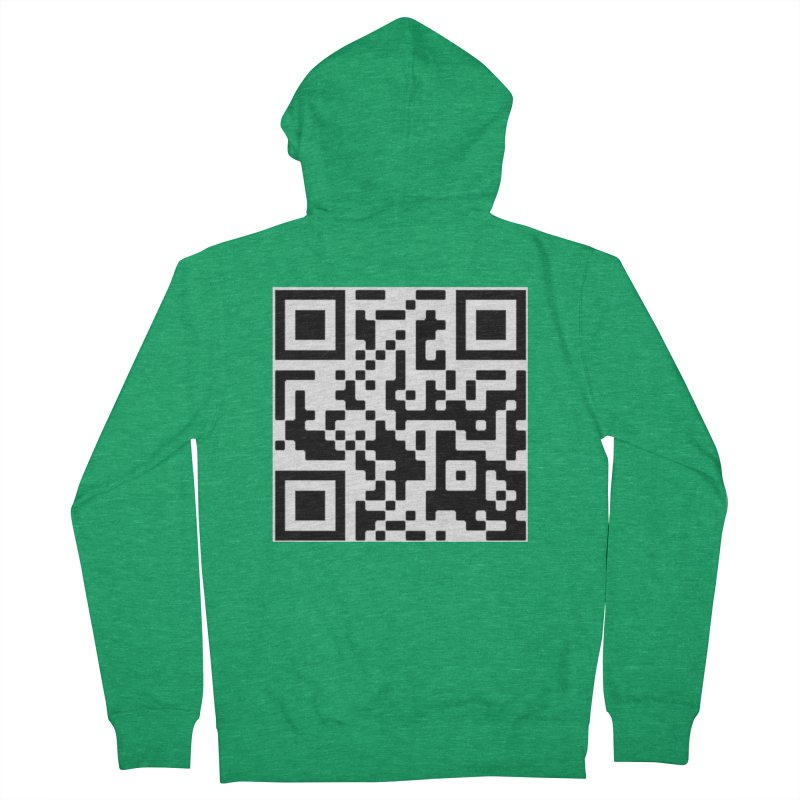 Scan Me Men's Zip-Up Hoody by jayselbowroom's Artist Shop