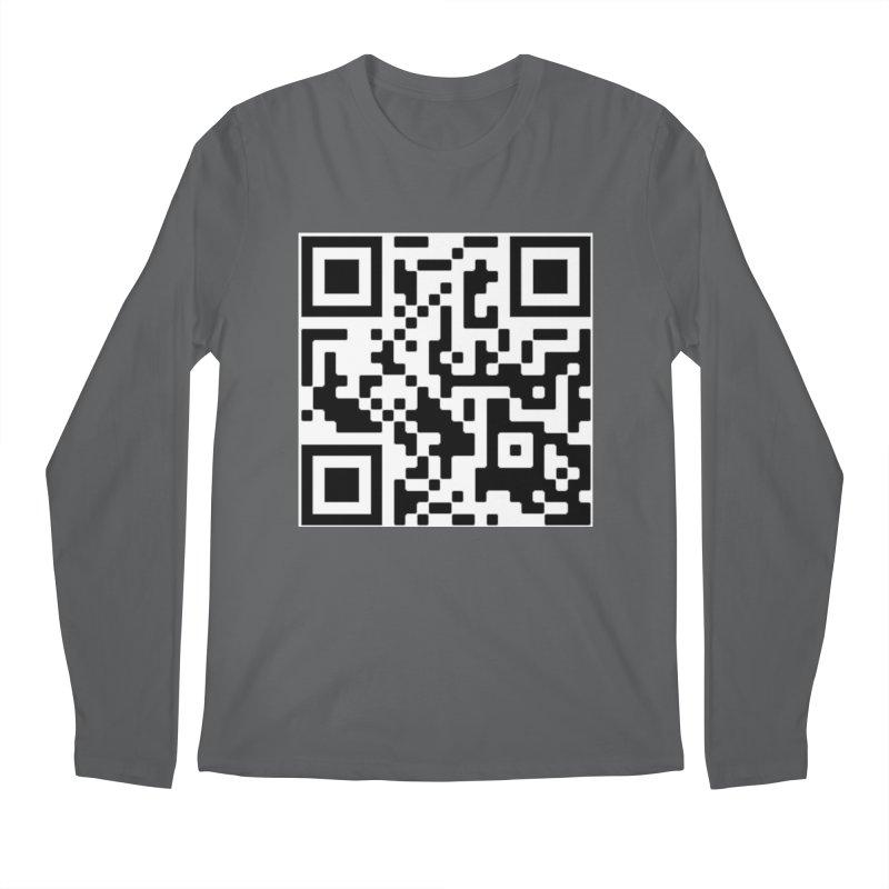 Scan Me Men's Longsleeve T-Shirt by jayselbowroom's Artist Shop