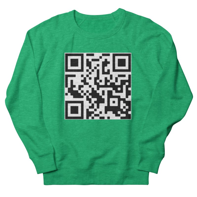 Scan Me Women's Sweatshirt by jayselbowroom's Artist Shop