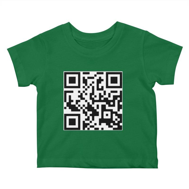 Scan Me Kids Baby T-Shirt by jayselbowroom's Artist Shop