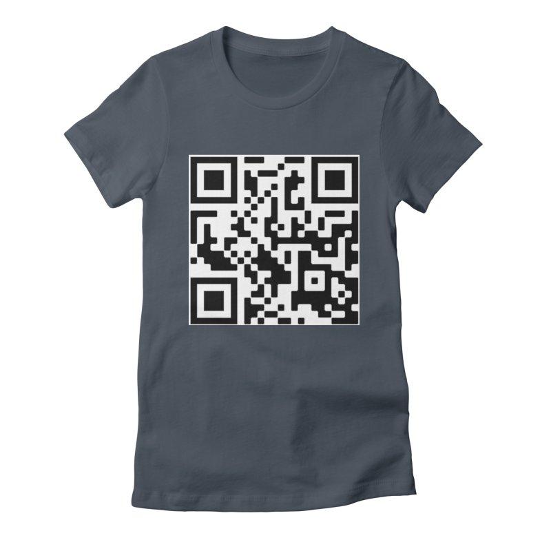 Scan Me Women's T-Shirt by jayselbowroom's Artist Shop