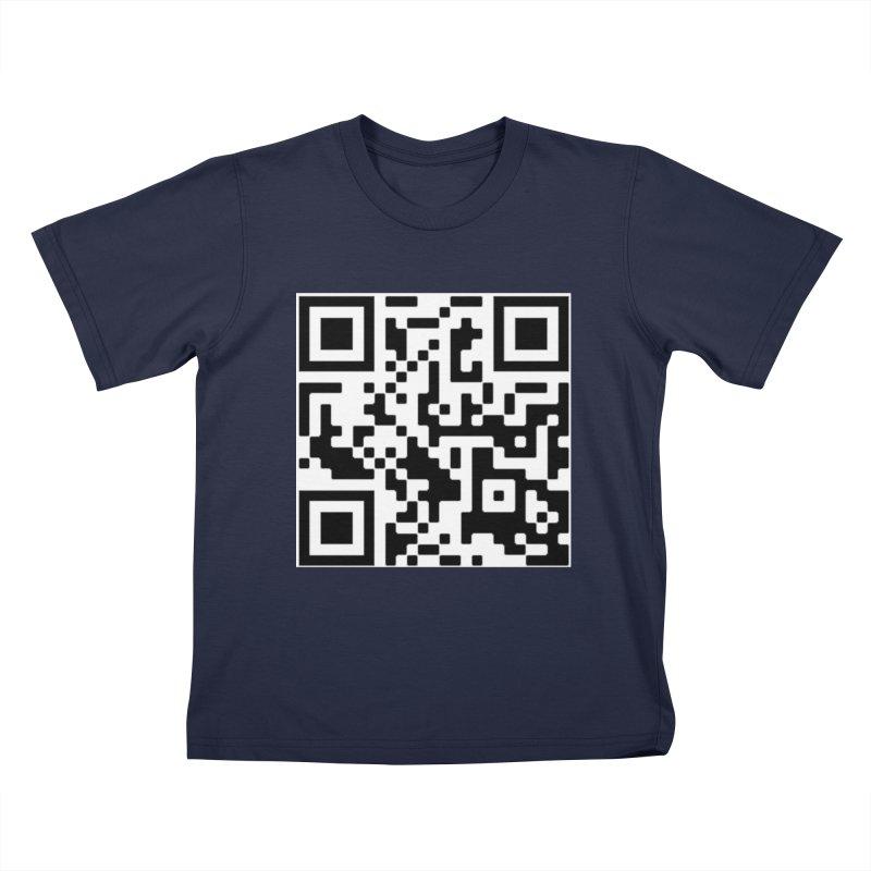 Scan Me Kids T-Shirt by jayselbowroom's Artist Shop