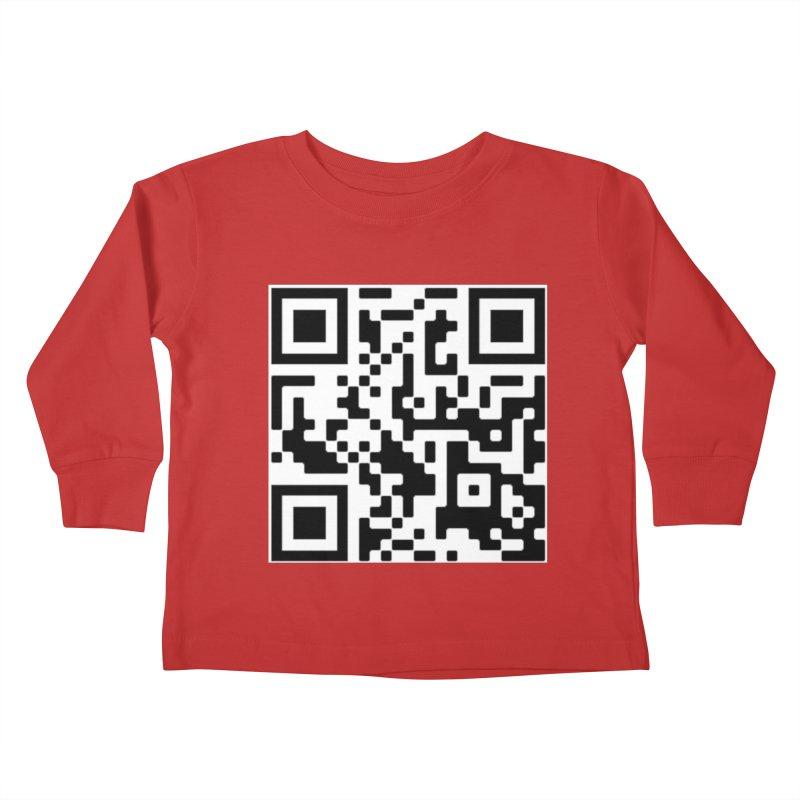 Scan Me Kids Toddler Longsleeve T-Shirt by jayselbowroom's Artist Shop