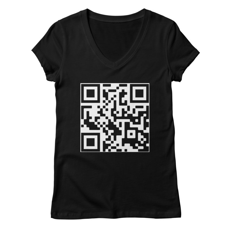 Scan Me Women's V-Neck by jayselbowroom's Artist Shop