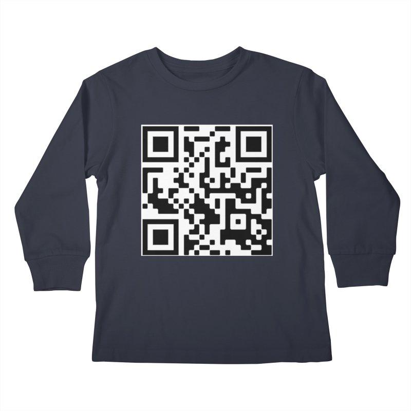Scan Me Kids Longsleeve T-Shirt by jayselbowroom's Artist Shop