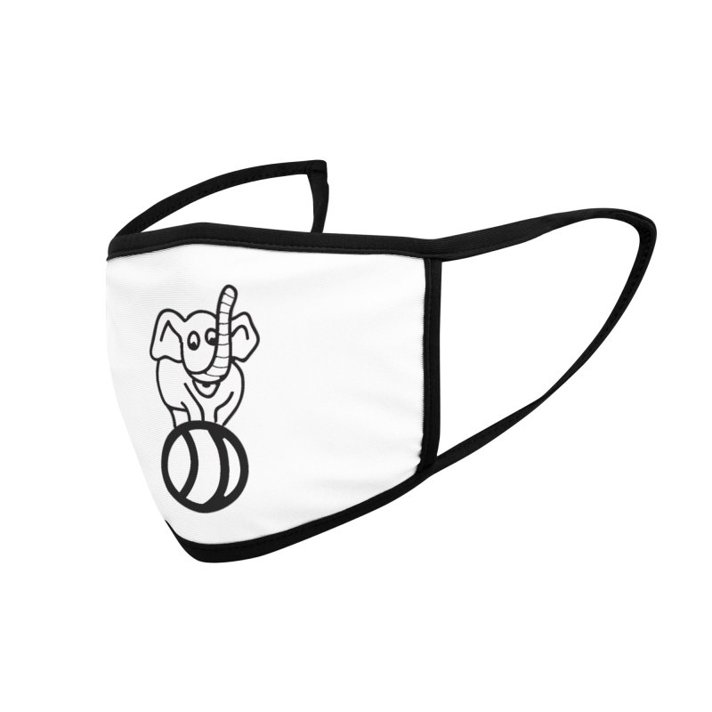 What's with the elephant? Accessories Face Mask by jayselbowroom's Artist Shop