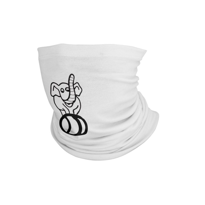 What's with the elephant? Accessories Neck Gaiter by jayselbowroom's Artist Shop
