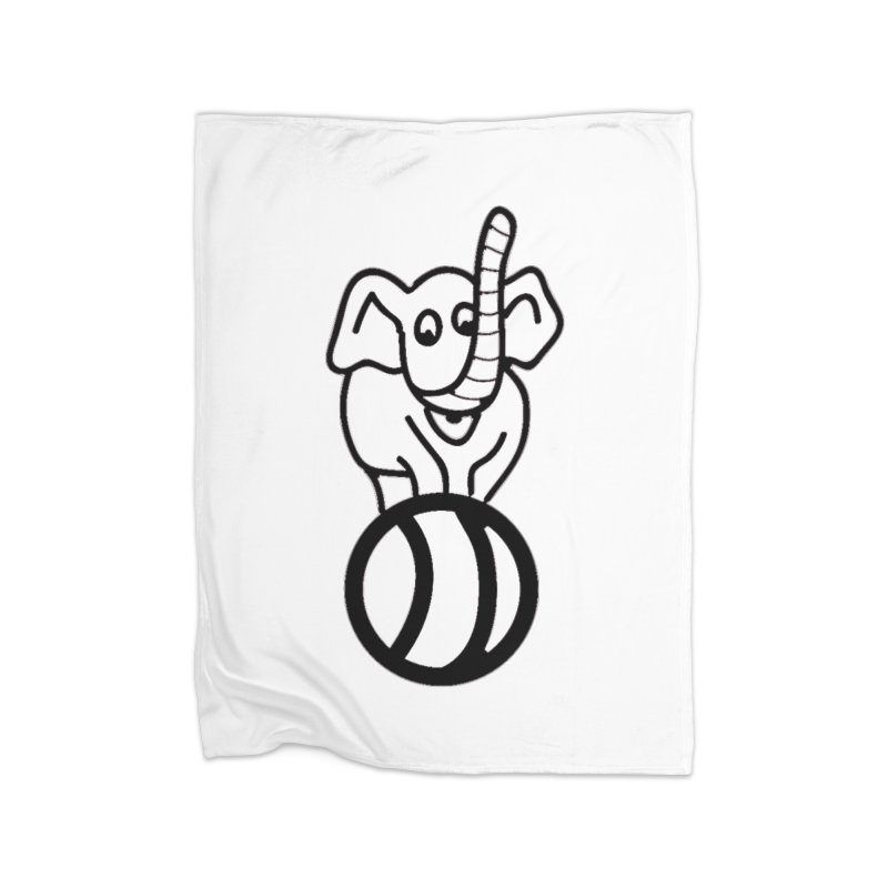 What's with the elephant? Home Blanket by jayselbowroom's Artist Shop