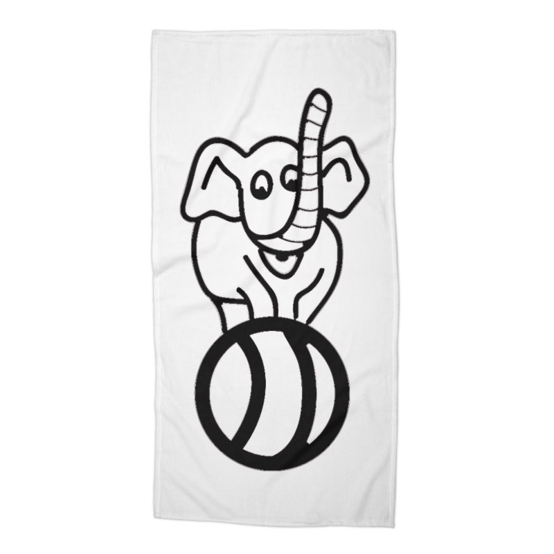 What's with the elephant? Accessories Beach Towel by jayselbowroom's Artist Shop