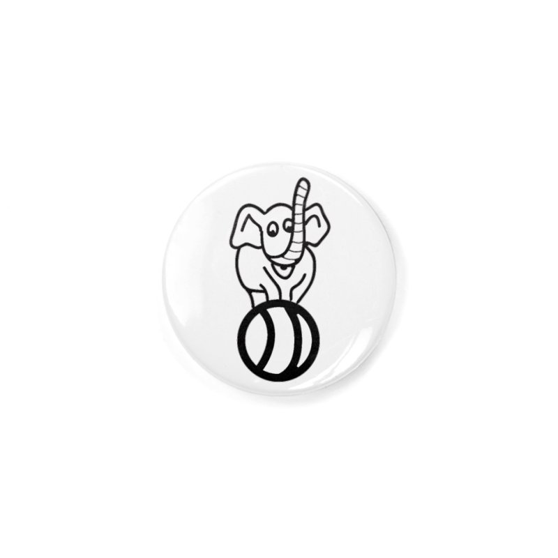 What's with the elephant? Accessories Button by jayselbowroom's Artist Shop