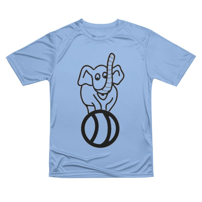 What's with the elephant? Men's T-Shirt by jayselbowroom's Artist Shop