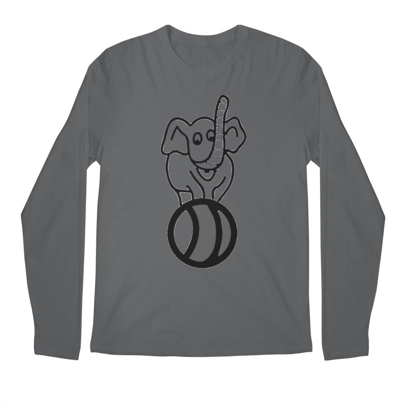 What's with the elephant? Men's Longsleeve T-Shirt by jayselbowroom's Artist Shop