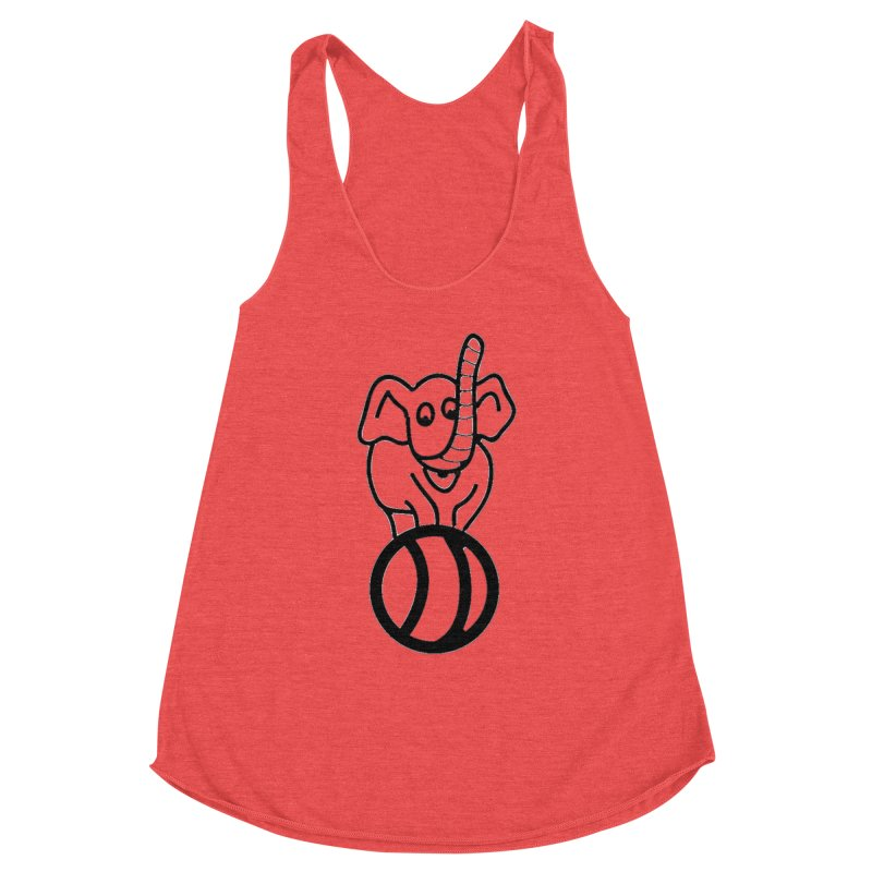 What's with the elephant? Women's Tank by jayselbowroom's Artist Shop