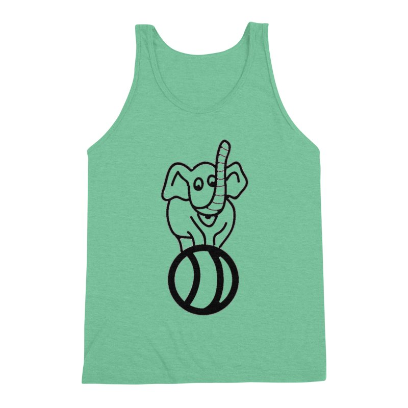 What's with the elephant? Men's Tank by jayselbowroom's Artist Shop