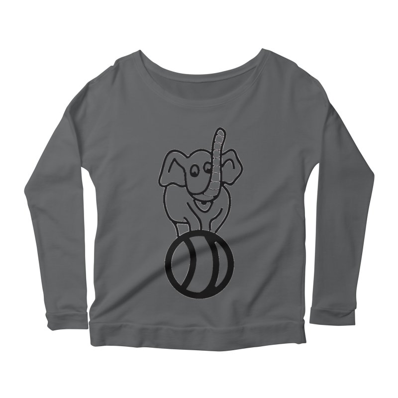 What's with the elephant? Women's Longsleeve T-Shirt by jayselbowroom's Artist Shop