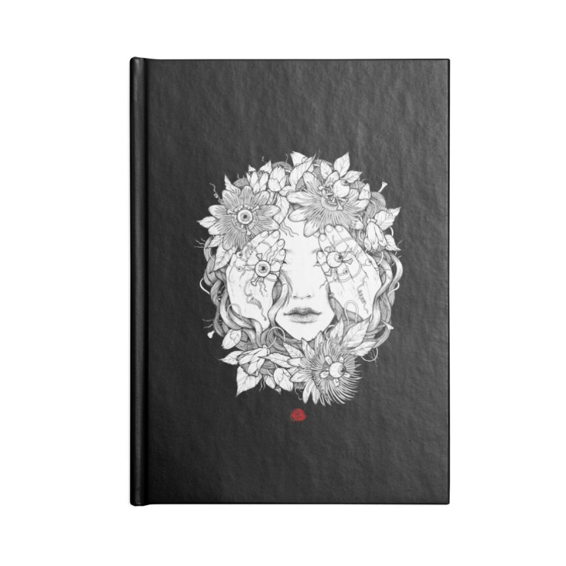 Ring Accessories Lined Journal Notebook by jazhmine's