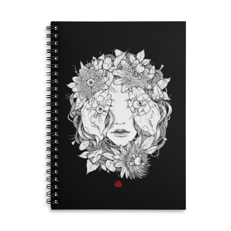 Ring Accessories Lined Spiral Notebook by jazhmine's