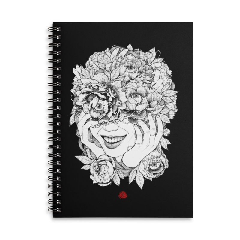 Enchanted Accessories Lined Spiral Notebook by jazhmine's