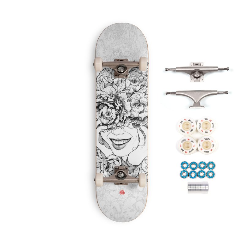 Enchanted Accessories Complete - Premium Skateboard by jazhmine's