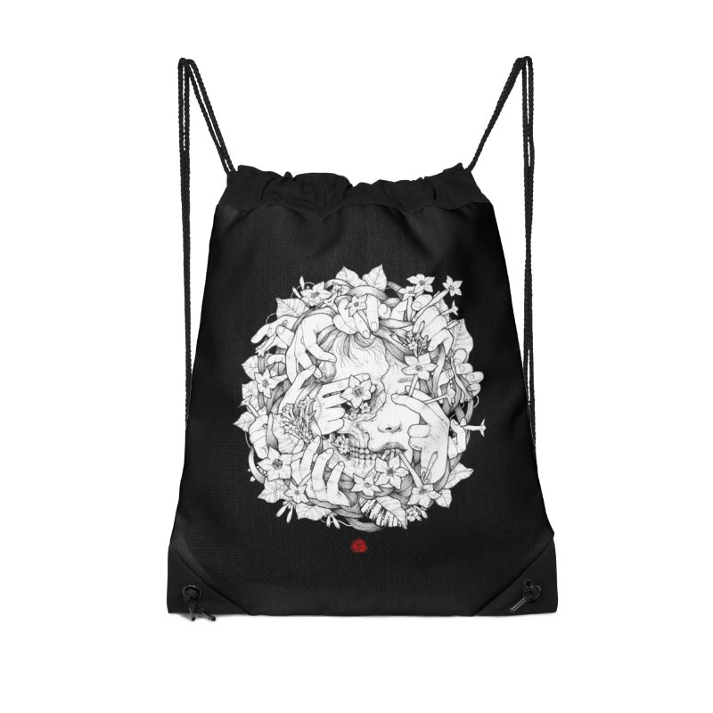 Smoke Accessories Drawstring Bag Bag by jazhmine's
