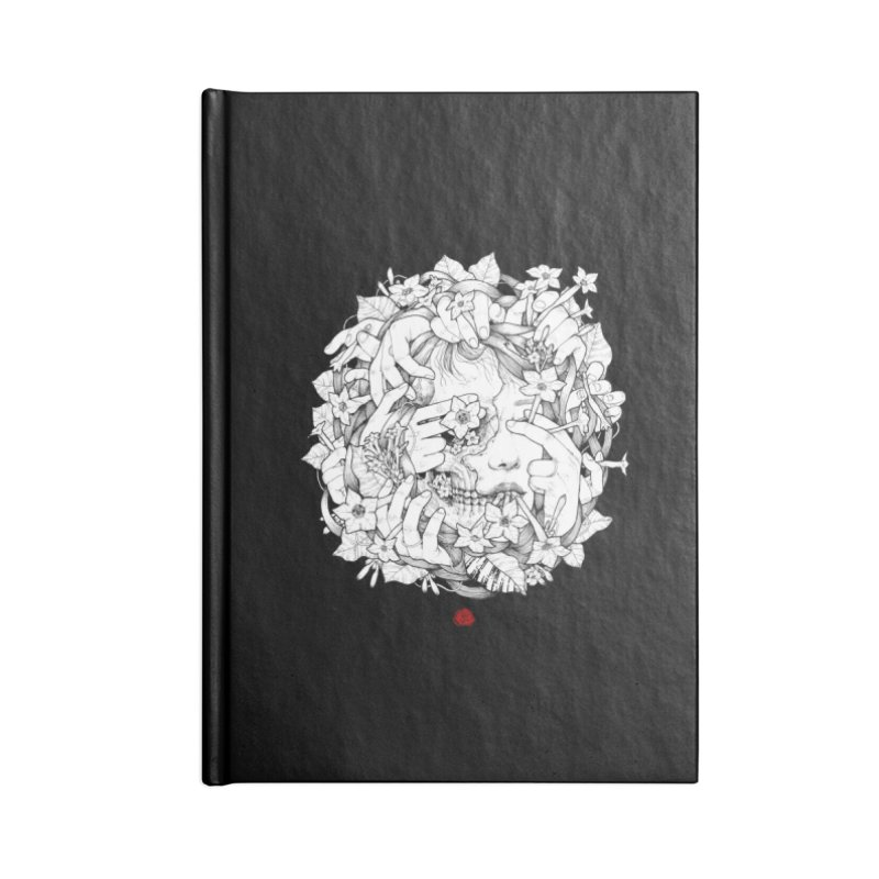 Smoke Accessories Blank Journal Notebook by jazhmine's