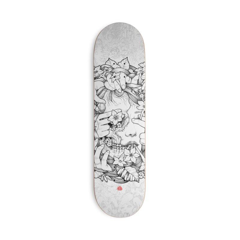 Smoke Accessories Deck Only Skateboard by jazhmine's