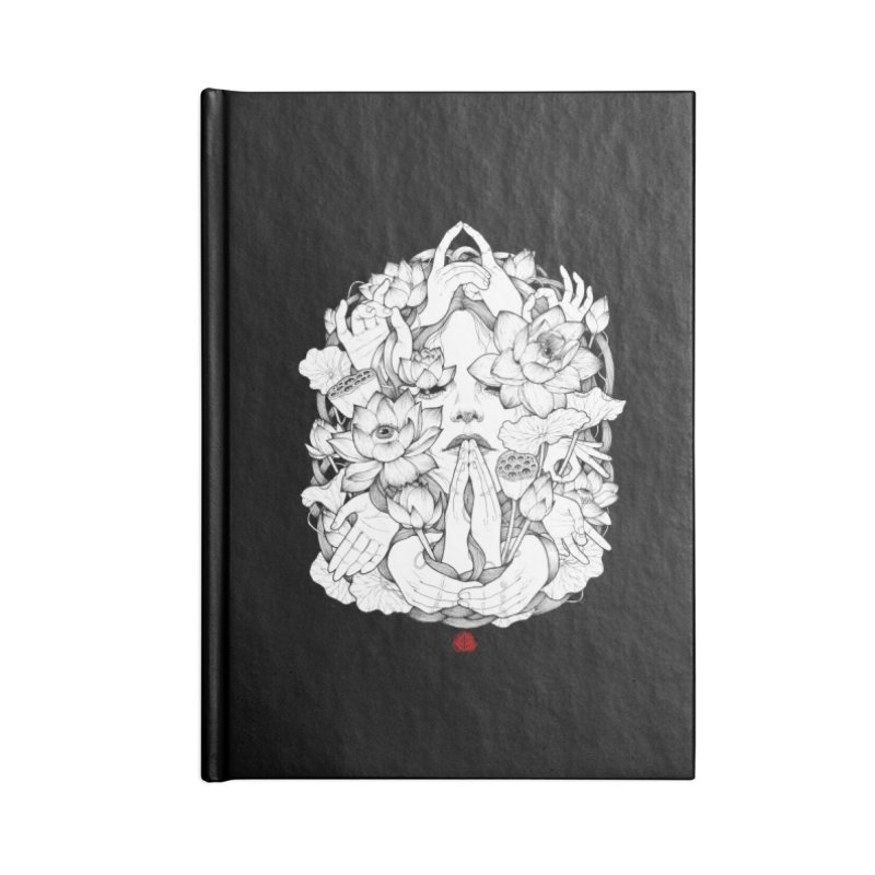 Legendary Accessories Lined Journal Notebook by jazhmine's
