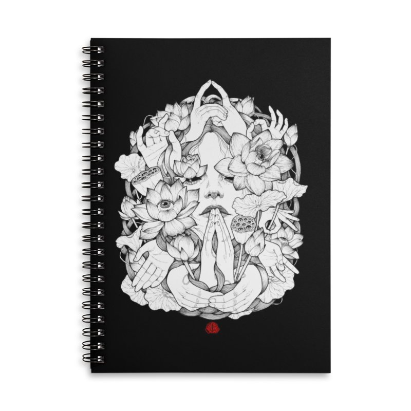 Legendary Accessories Lined Spiral Notebook by jazhmine's