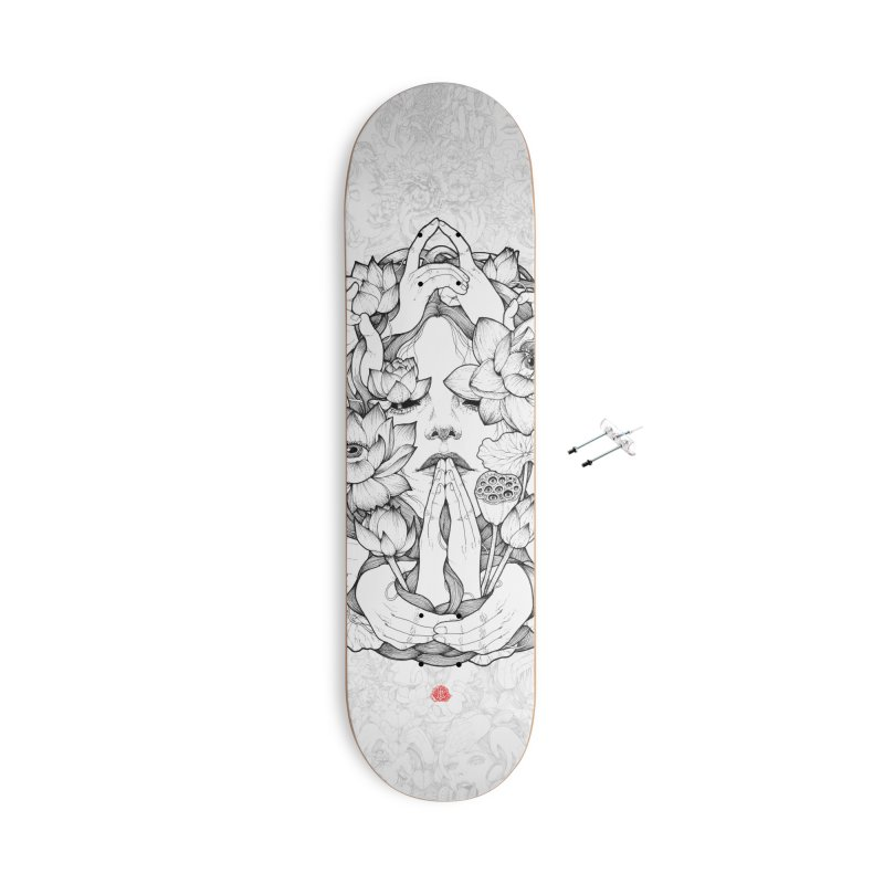 Legendary Accessories With Hanging Hardware Skateboard by jazhmine's