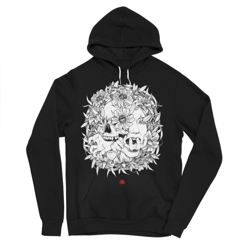 Wild Men's Sponge Fleece Pullover Hoody by jazhmine's