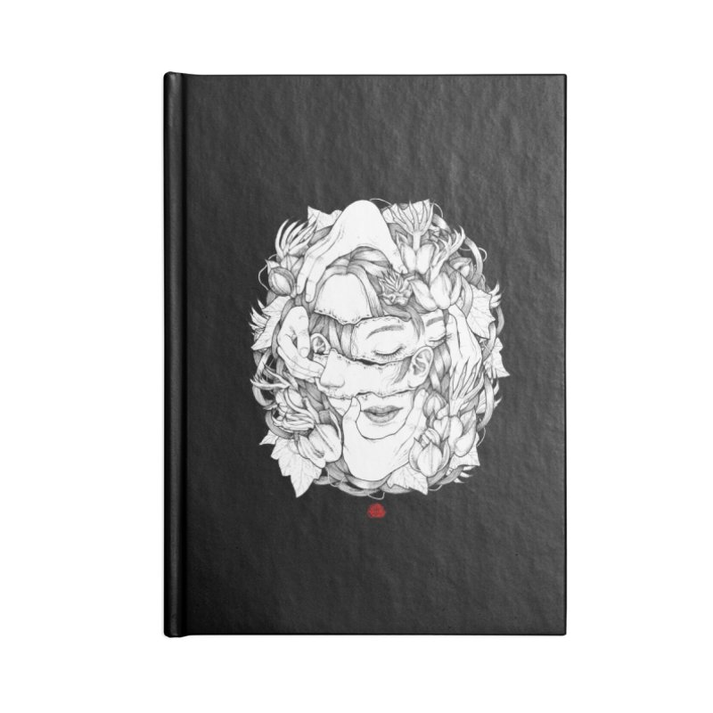 Misfit Accessories Lined Journal Notebook by jazhmine's