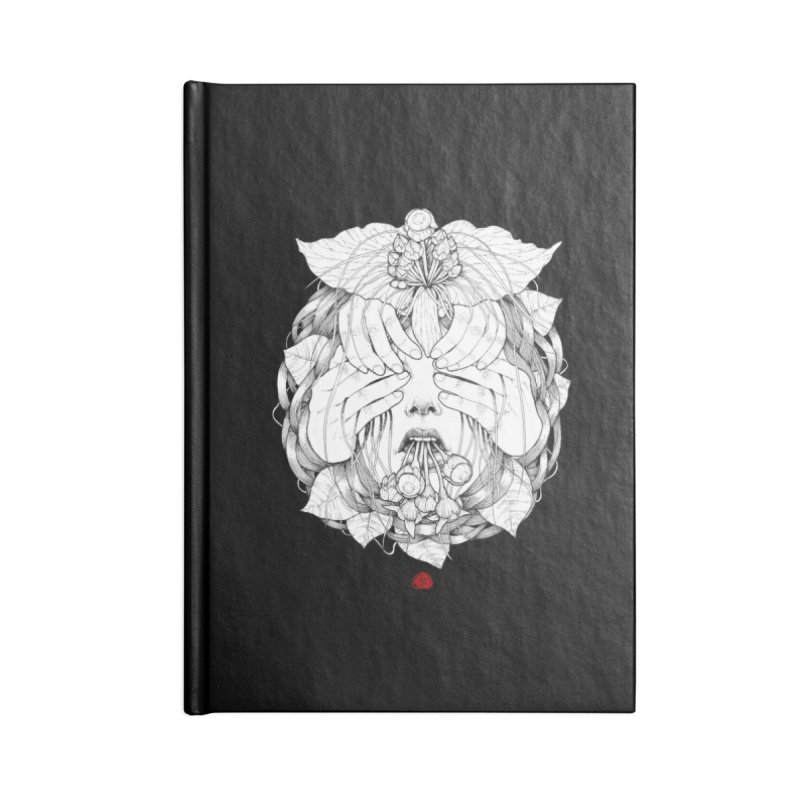 Dark Accessories Blank Journal Notebook by jazhmine's
