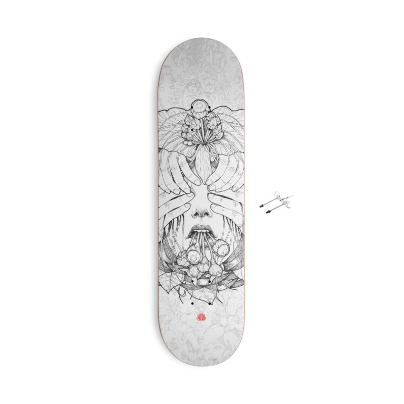 Dark Accessories With Hanging Hardware Skateboard by jazhmine's