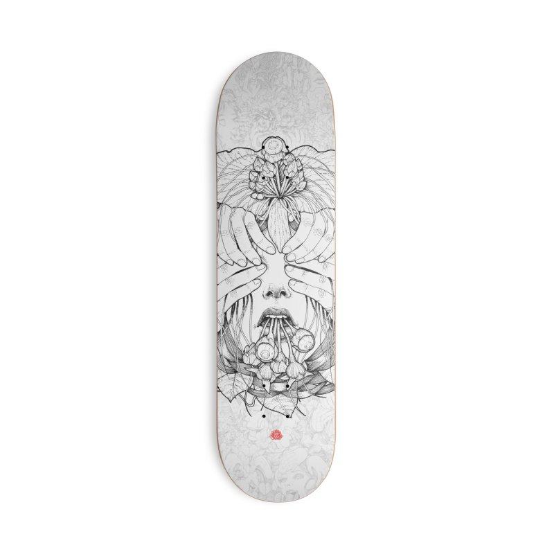 Dark Accessories Deck Only Skateboard by jazhmine's