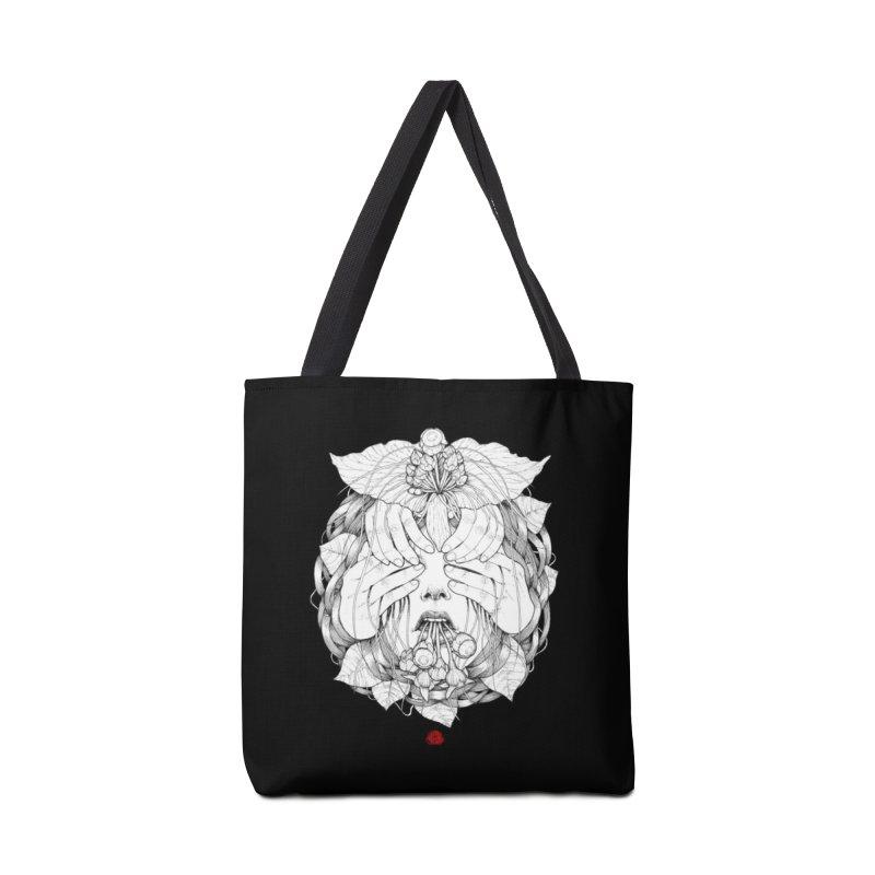 Dark Accessories Tote Bag Bag by jazhmine's