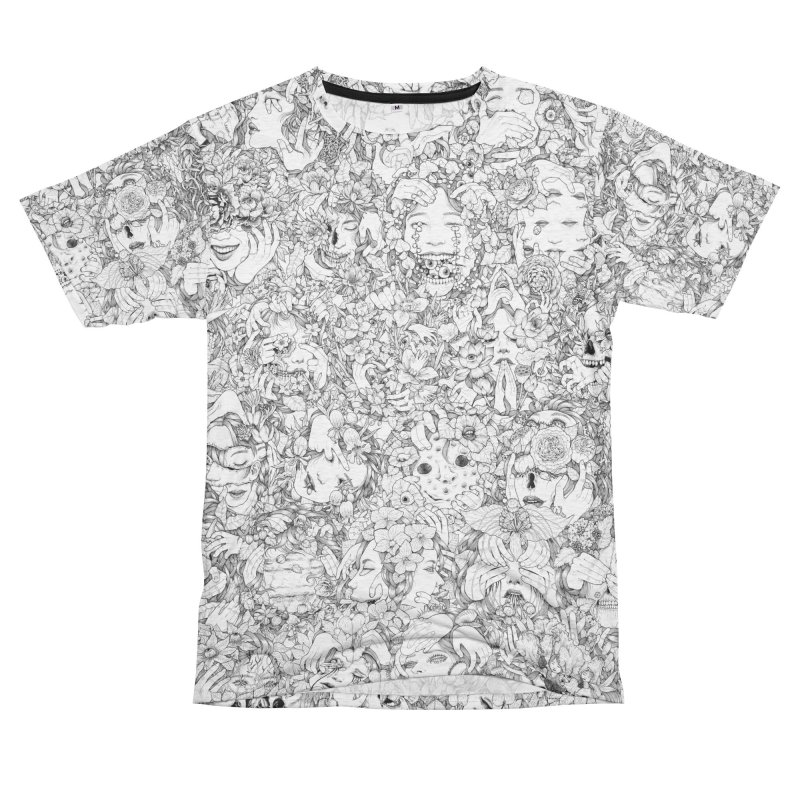 Anxiety Men's French Terry T-Shirt Cut & Sew by jazhmine's