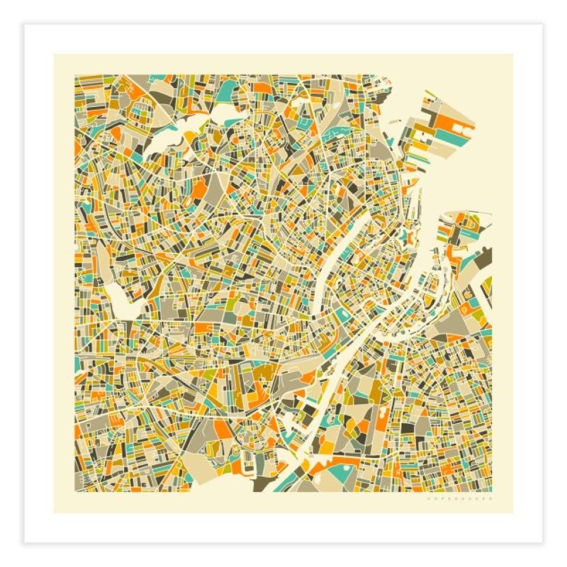 COPENHAGEN MAP in Fine Art Print by Jazzberry Blue's Artist Shop