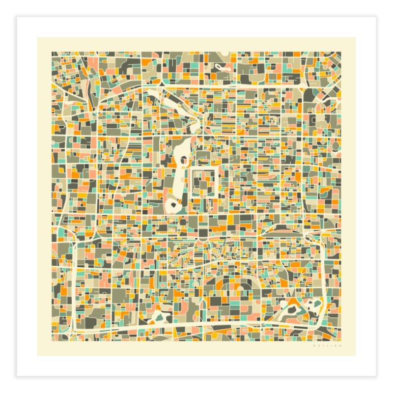 BEIJING MAP in Fine Art Print by Jazzberry Blue's Artist Shop