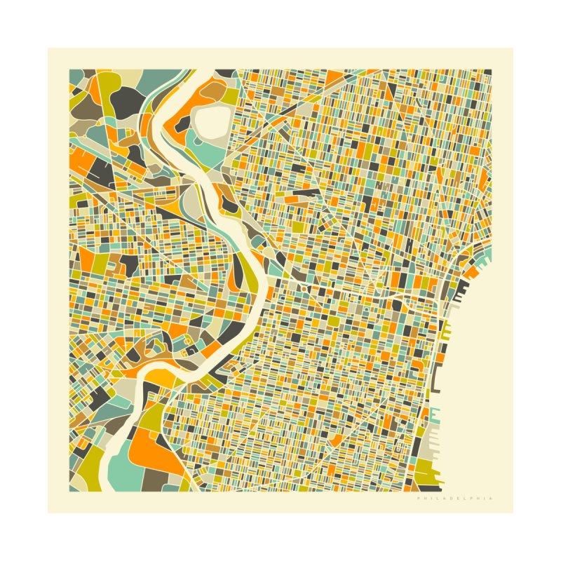PHILADELPHIA MAP Home Fine Art Print by Jazzberry Blue's Artist Shop
