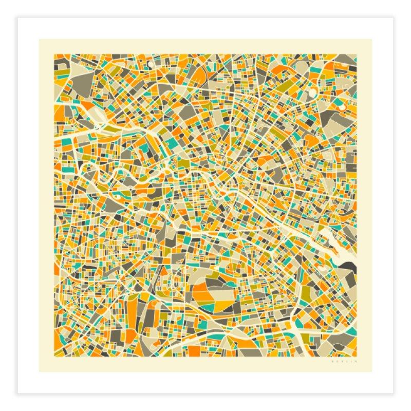 BERLIN MAP in Fine Art Print by Jazzberry Blue's Artist Shop