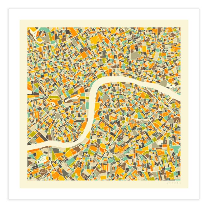LONDON MAP in Fine Art Print by Jazzberry Blue's Artist Shop
