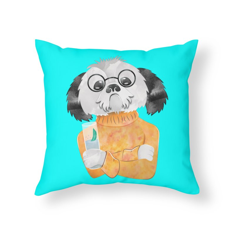 Any chance of a refill? Home Throw Pillow by JAZZYDEVIL DESIGNZ