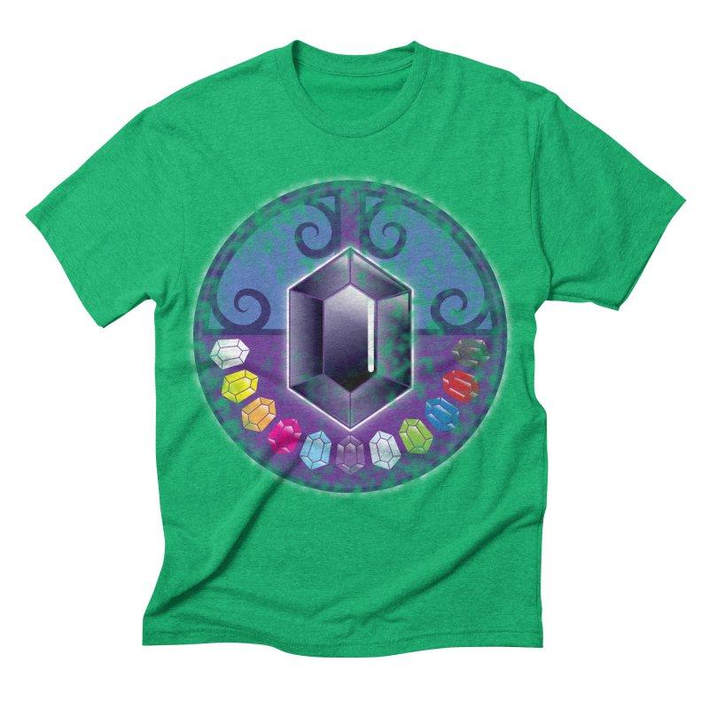 The Black Jewels Men's Triblend T-shirt by JAZZYDEVIL DESIGNZ