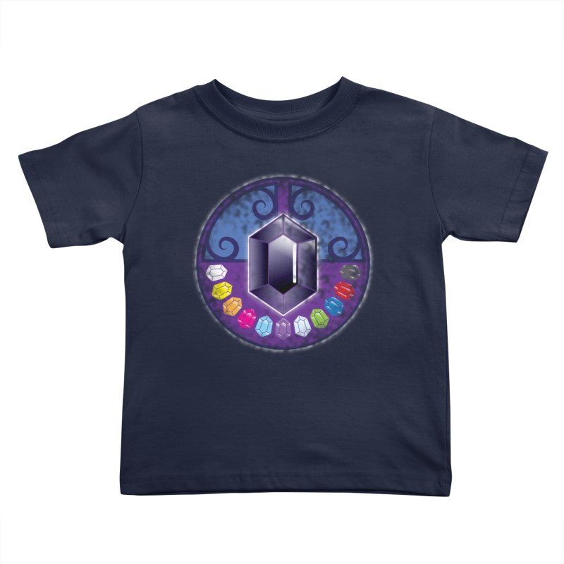 The Black Jewels Kids Toddler T-Shirt by JAZZYDEVIL DESIGNZ