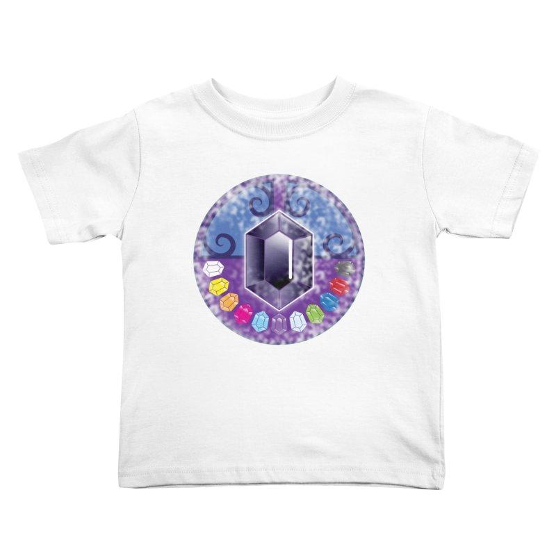 The Black Jewels Kids Toddler T-Shirt by JAZZYDEVIL DESIGNZ