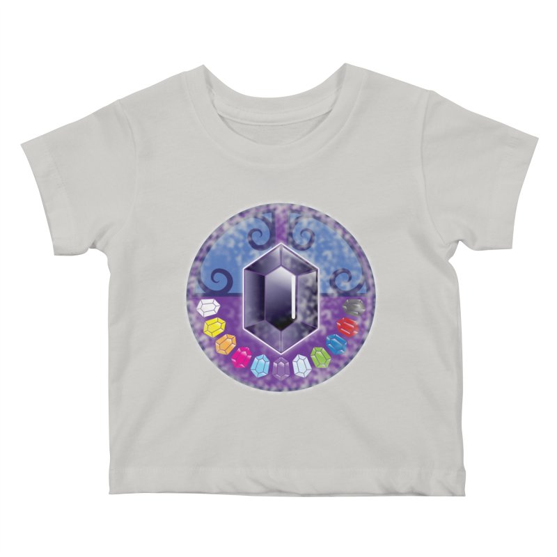 The Black Jewels Kids Baby T-Shirt by JAZZYDEVIL DESIGNZ