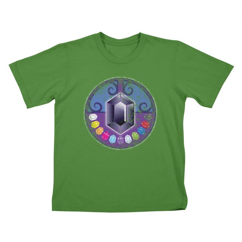 The Black Jewels Kids T-Shirt by JAZZYDEVIL DESIGNZ