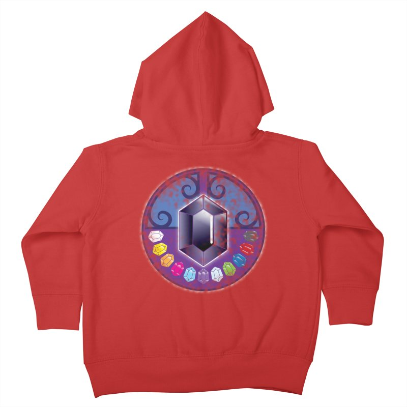 The Black Jewels Kids Toddler Zip-Up Hoody by JAZZYDEVIL DESIGNZ