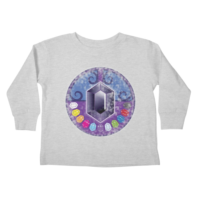 The Black Jewels Kids Toddler Longsleeve T-Shirt by JAZZYDEVIL DESIGNZ