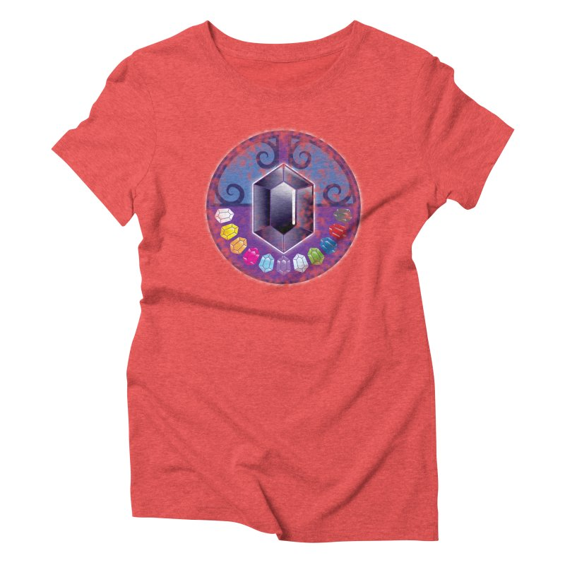 The Black Jewels Women's Triblend T-shirt by JAZZYDEVIL DESIGNZ